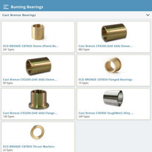 Bunting Bearings App