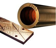 Continuous Cast Solid, Cored, Wearplate and Centrifugal Cast Bronze Bar